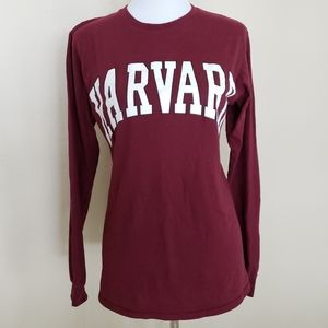 Harvard University Long Sleeve Tshirt
